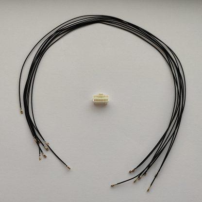 Комплект для сборки кабеля подключения энкодеров к контроллеру СЕРВОСИЛА SC-25